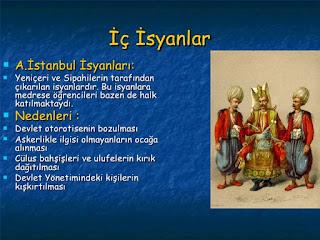 17. Yüzyıl İsyanları