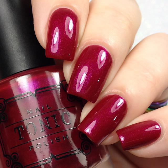 Tonic Polish-Black Cherry