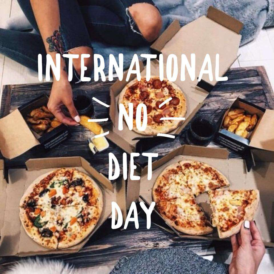 International No Diet Day Wishes Lovely Pics