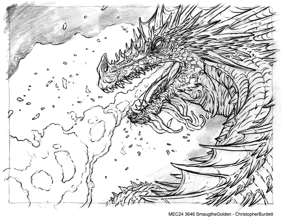 Smaug Coloring Pages Coloring Pages