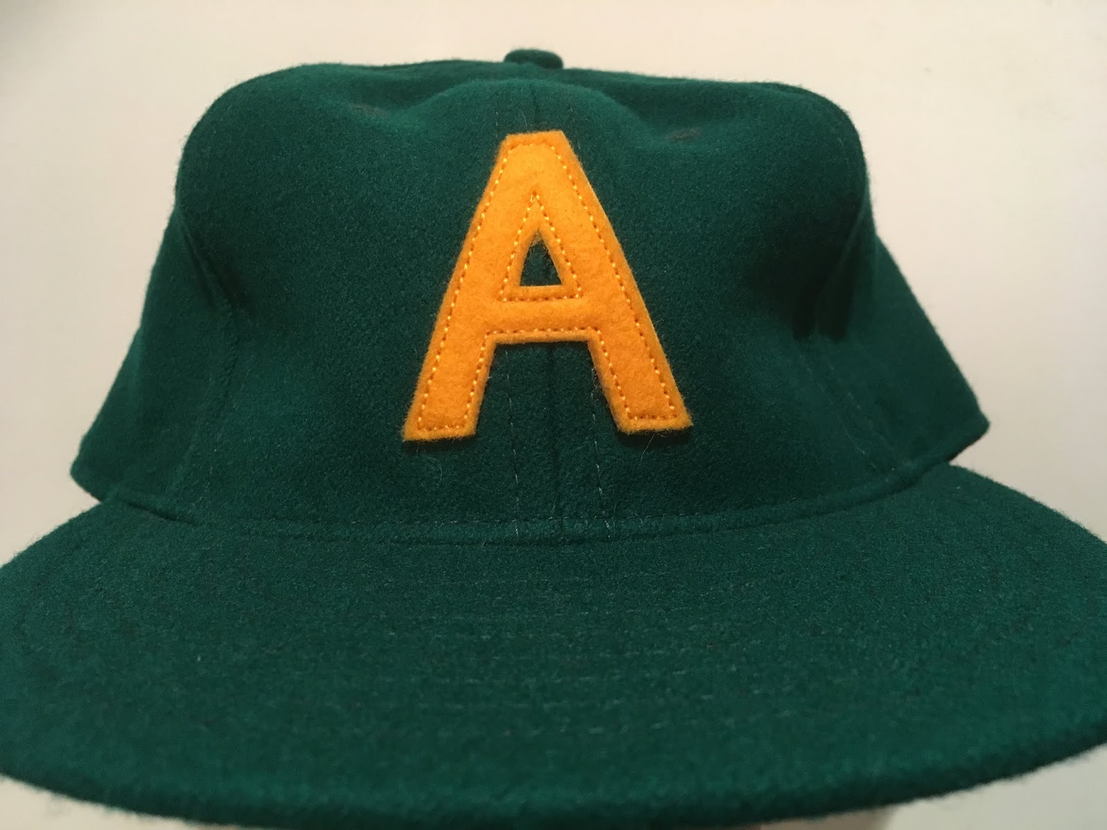Behold the Green and Gold! I like the gold felt