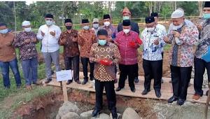 Peletakan Batu Pertama Pembangunan Masjid raya riyadhul Jannah remban