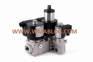 Delta Elektrogas VMM Multiple safety solenoid valve for gas regulating trains