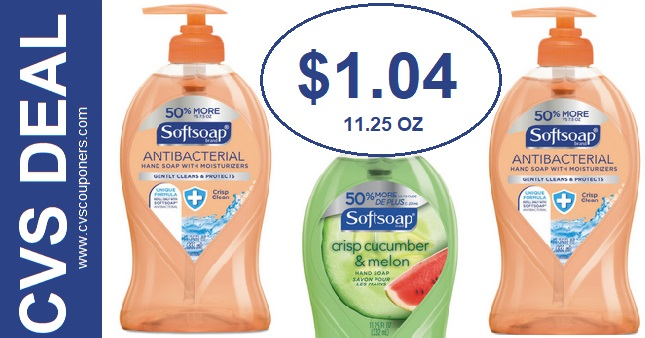 Softsoap Liquid Hand Soap CVS Deal 2-23-2-29