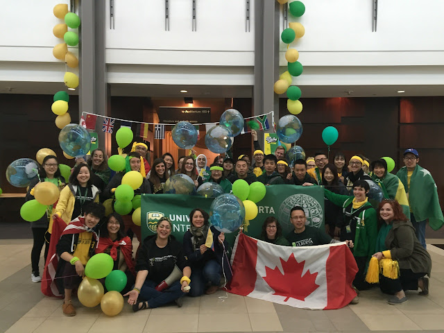 The University of Alberta International Team
