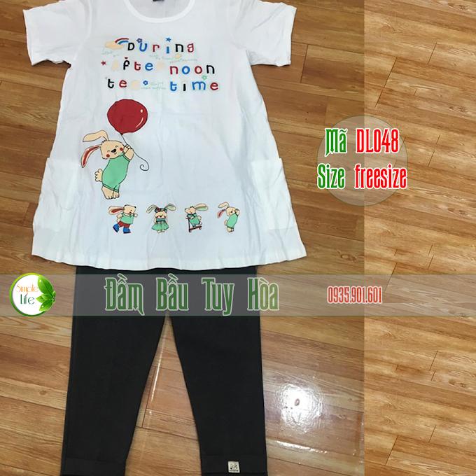 Bộ đôi áo và quần siêu dễ thương DL048