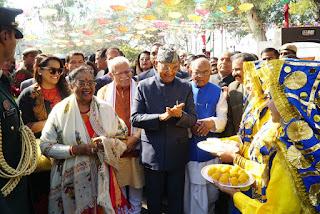 सूरजकुंड मेला भारत के लोगों के कला-कौशल, प्रतिभा व उद्यमशीलता का स्थापित मंच : रामनाथ कोविंद