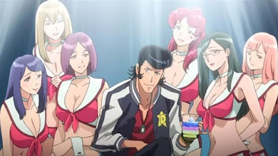 Space Dandy anime fanservice