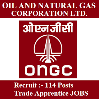Oil and Natural Gas Corporation Limited, ONGC, Trade Apprentice, 10th, ITI, freejobalert, Sarkari Naukri, Latest Jobs, Apprentice, Gujarat, ongc logo