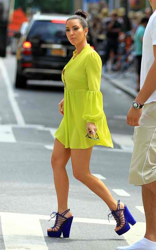 Kim Kardashian Style Kim Kardashian Shoes Style