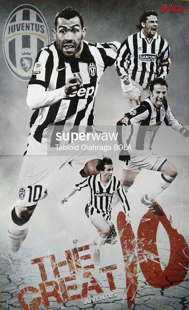 POSTER JUVENTUS THE GREAT 10