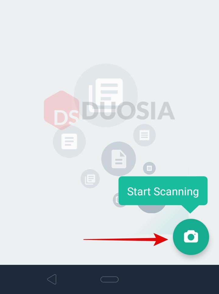 cara memindai dokumen di android