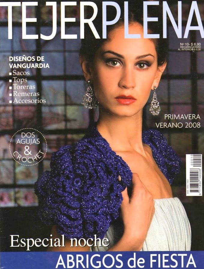 Revista em Tricô e Crochê -Revista Tricô Tejer Plena N° 10