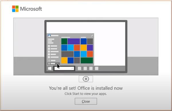 Hướng dẫn cài đặt Office 365 d