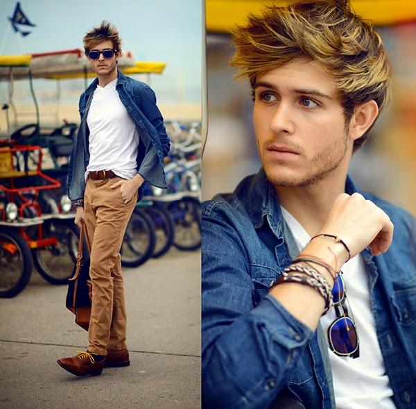 como usar calça marrom masculina (1)