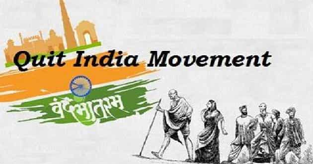 GK Questions and Answers Independence Day Quit India Movement