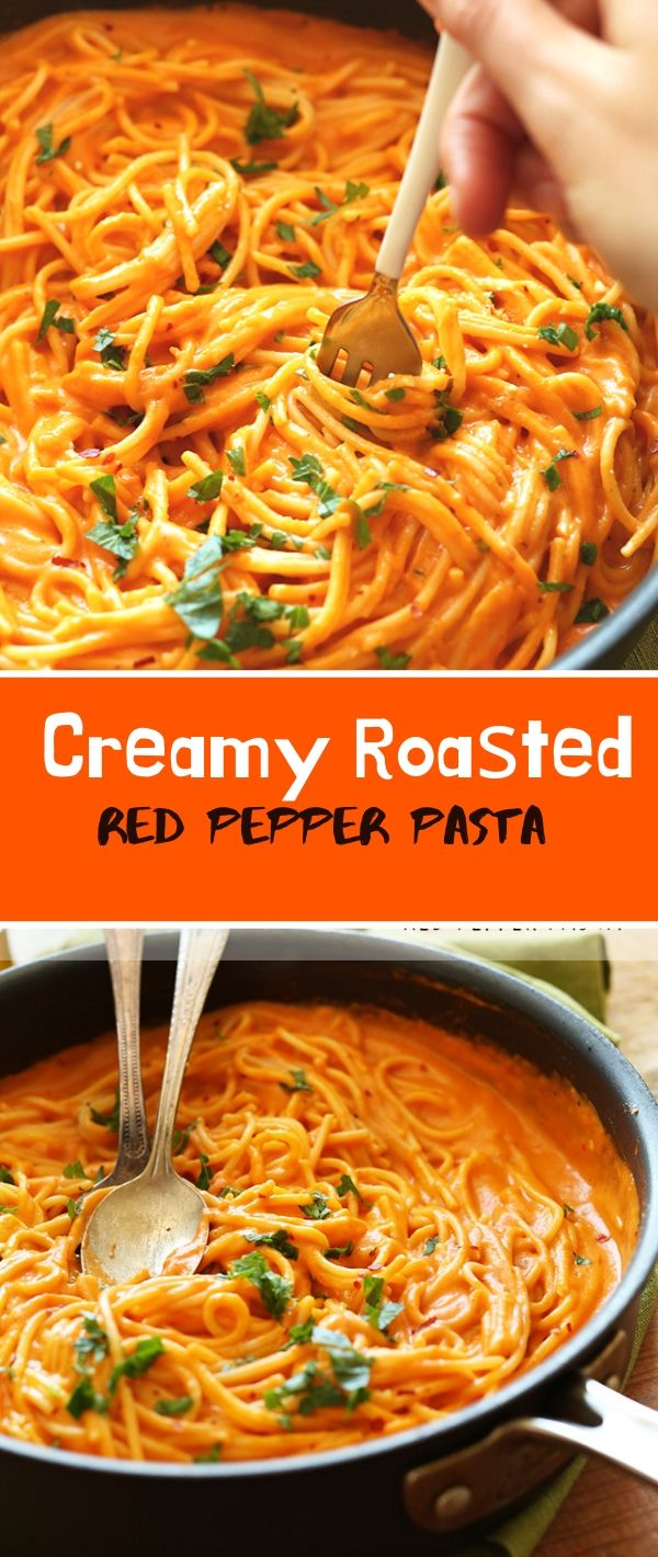 rеаmу Rоаѕtеd Rеd Pepper Pasta #Crеаmу #Rоаѕtеd #Rеd #Pepper #Pasta Healthy Recipes For Weight Loss, Healthy Recipes Easy, Healthy Recipes Dinner, Healthy Recipes Best, Healthy Recipes On A Budget,