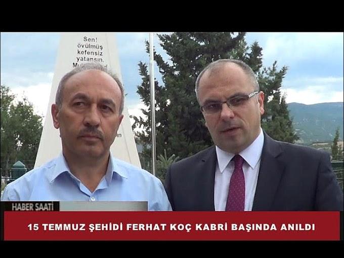 Turhal'da 15 Temmuz Demokrasi ve Milli Birlik Günü etkinlikleri kapsamında,