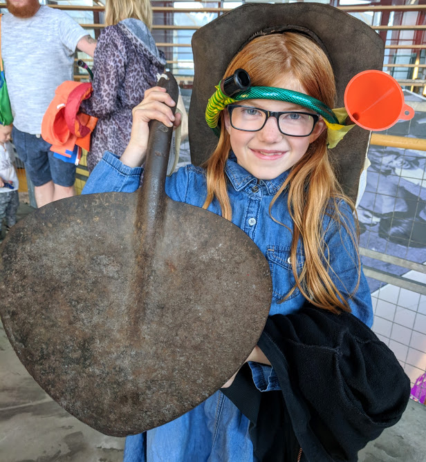 10 Reasons to Visit Woodhorn Museum (A Review) - coal shovel