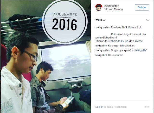 Follow Instagram @ZackySedan