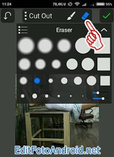 Cara Edit Foto Levitasi di PicSay Pro 3