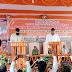 समर्थकों की भारी भीड़ के बीच आलोक सिंह ने ली ब्लॉक प्रमुख सीयर की शपथ