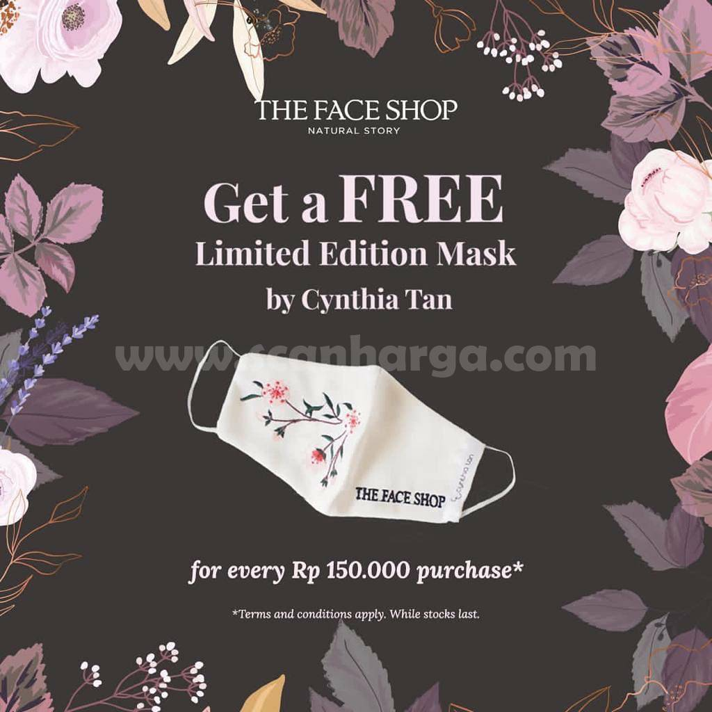 The Face Shop Get A Free Limited Edtion Mask by Cynthia Tan*