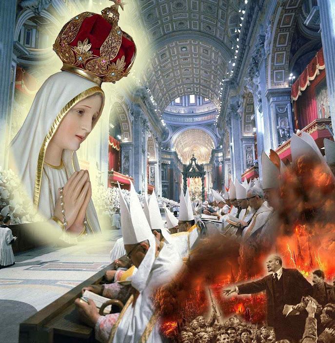 """""""O êxito dos êxitos foi o silêncio enigmático, desconcertante, espantoso e apocalipticamente trágico do Concílio Vaticano II a respeito do comunismo"""" (Plinio Corrêa de Oliveira)"""