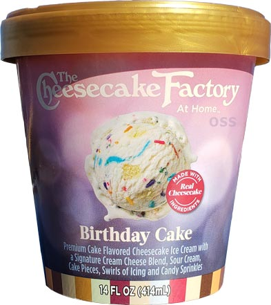 Magnificent On Second Scoop Ice Cream Reviews Cheesecake Factory At Home Funny Birthday Cards Online Inifodamsfinfo