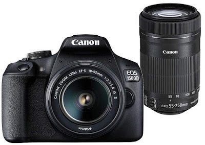 5. Canon EOS 1500D DSLR Camera