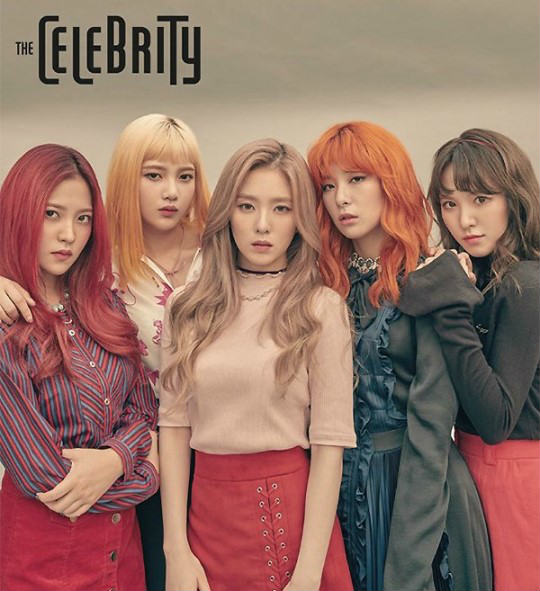 Tampil di Cover Majalah 'The Celebrity' Red Velvet