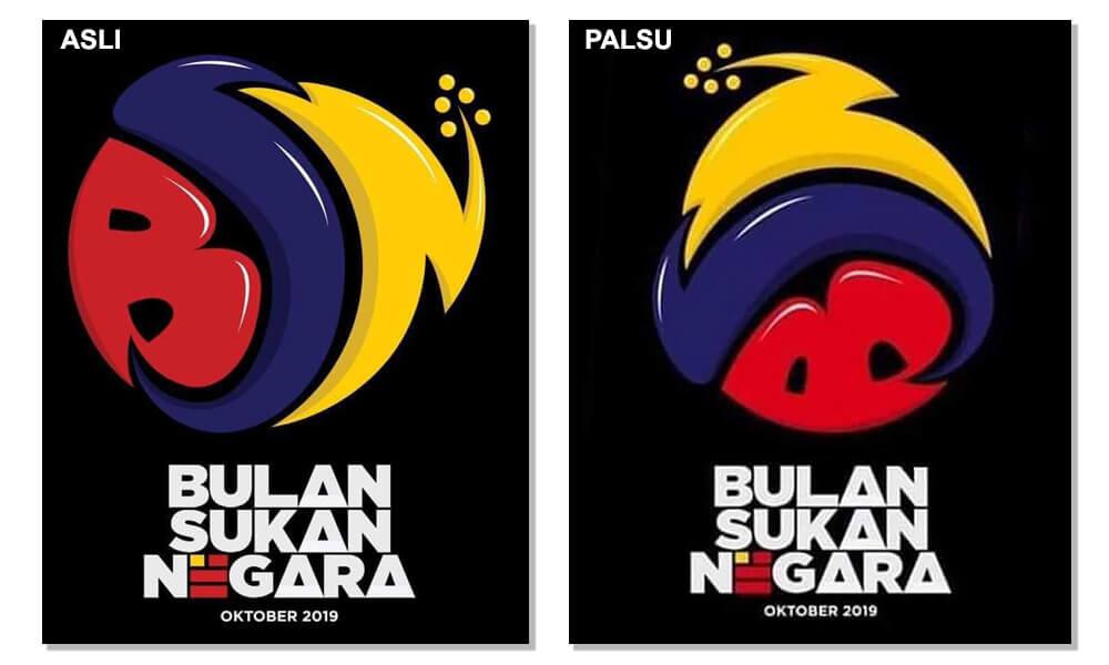 Logo Bulan Sukan Negara 2019