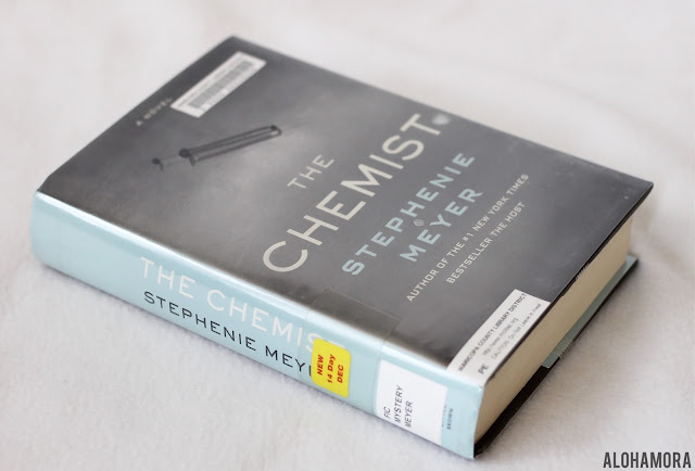The Chemist by Stephanie Meyer is an adult literature mystery, spy, action novel. 3.5 out of 5 stars in my book review. chemistry, action, strong female characters, clean read, book club, fun read, audiobook, Alohamoraopenabook Alohamora: Open a Book www.alohamoraopenabook.blogspot.com