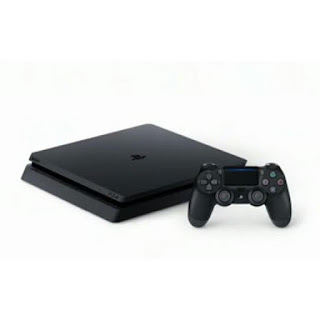 SONY Playstation 4 PS 4 Slim New 1TB Jet Black CUH-2218B Resmi Indonesia