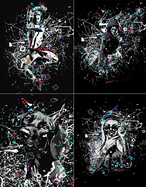 Geometrico Photoshop Action