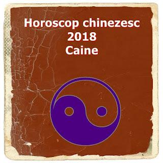 Horoscop chinezesc 2018 Caine dragoste bani sanatate