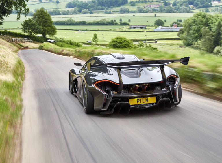 The Mclaren P1 Lm Is Here And It S A High Downforce Monster