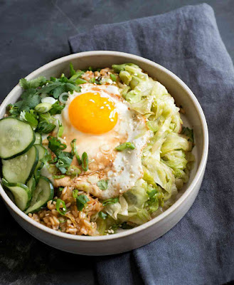 Kimchi Fried Rice Bowl Recipe