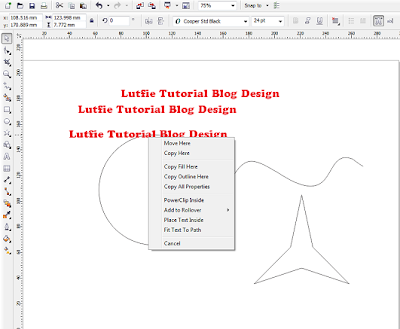 Text To Path Corel Draw