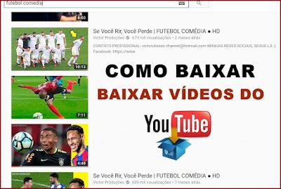 Baixar vídeos do Youtube sem programas