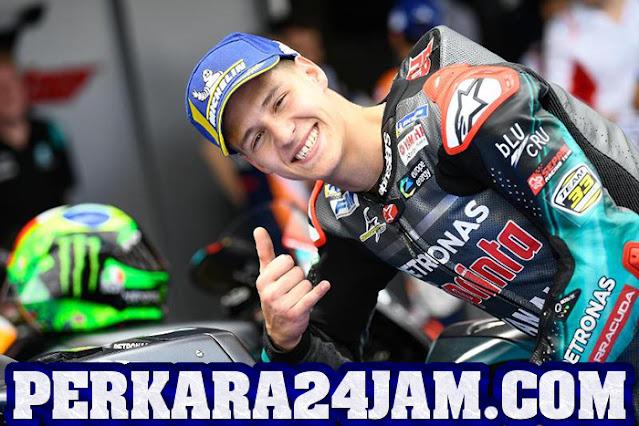 Quartararo Tak Ingin Terbebani Saat Di Ambang Juara MotoGP 2021