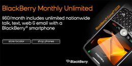 Boost Mobile BlackBerry Monthly Unlimited Plan with Curve 8330