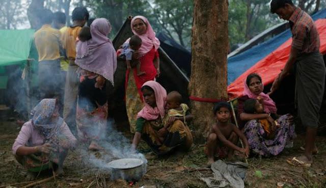 Tak Ada Masjid dan Azan Berkumandang di 'Neraka' Rakhine