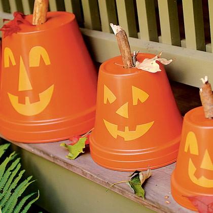 Flowerpot Pumpkins