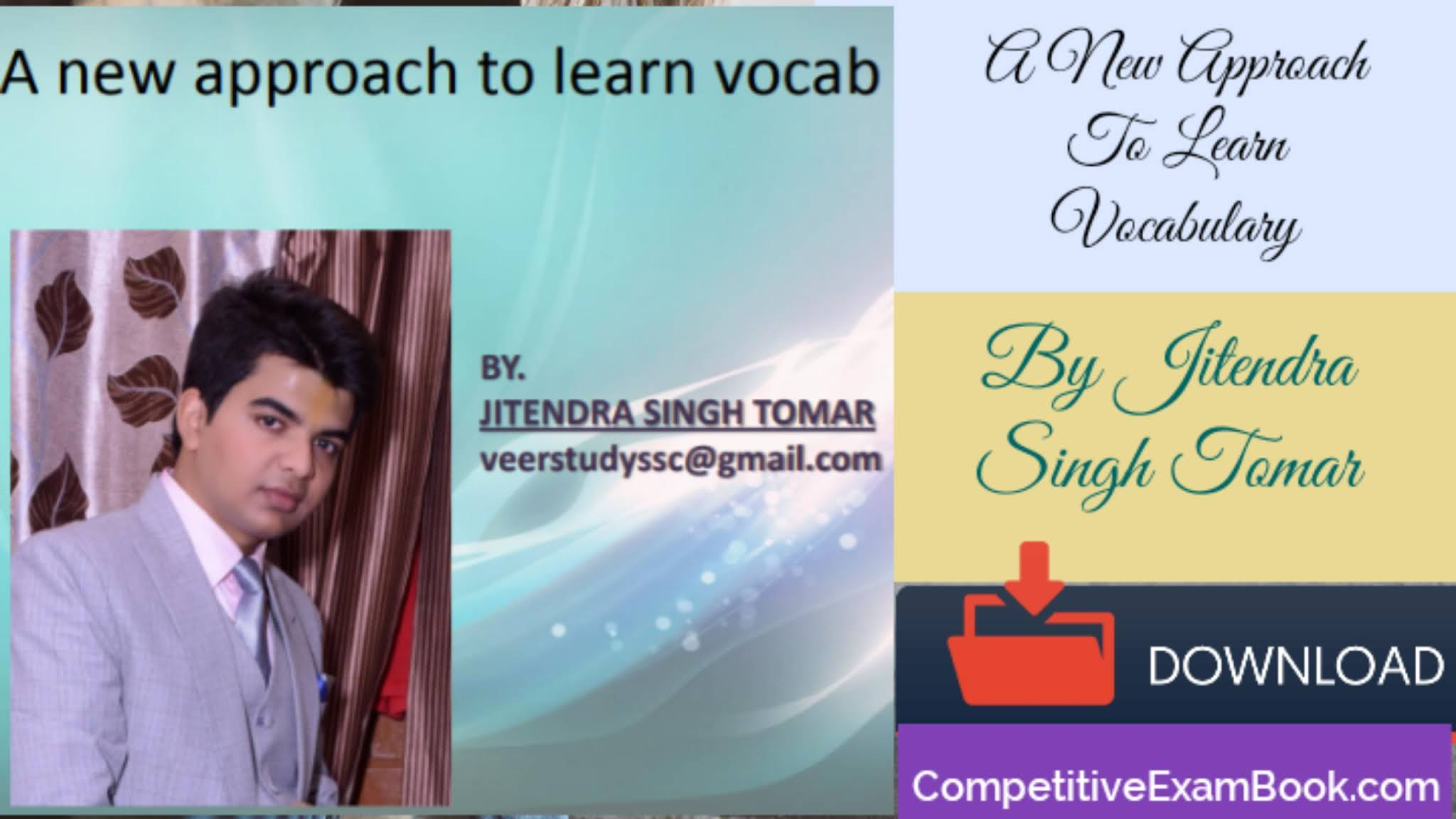 A New Approach To Learn Vocab-For All Competitive Exams