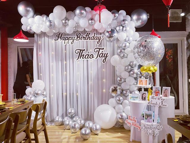 thuê Trang trí sinh nhật người lớn tại Đống Đa