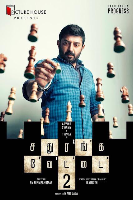 Arvind swamy photos in Sathuranga Vettai 2 Tamil Movie