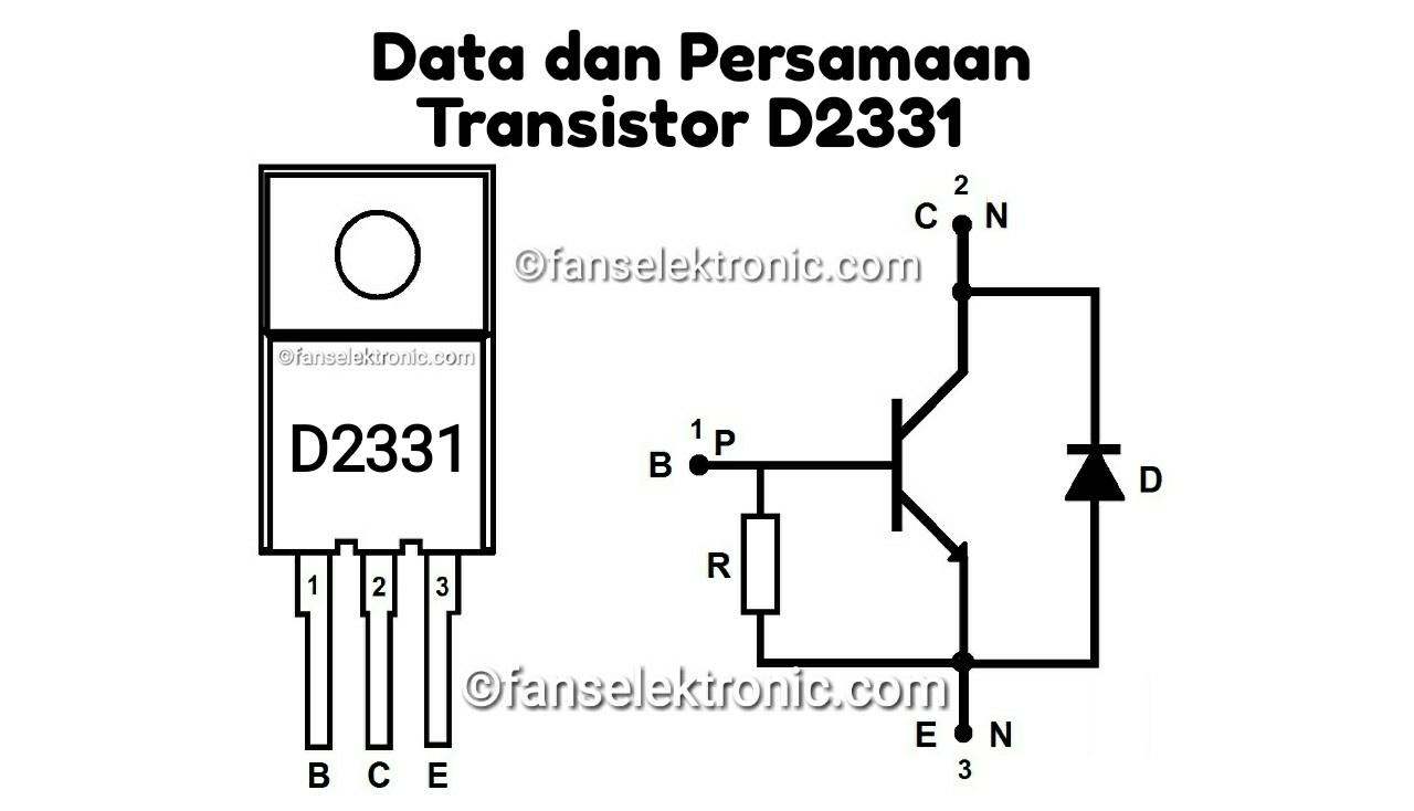 Persamaan Transistor D2331