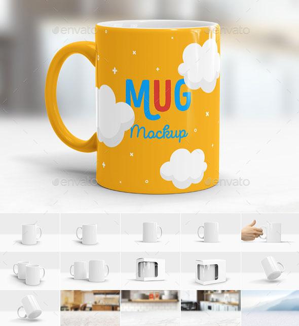 11 Mug Mockup