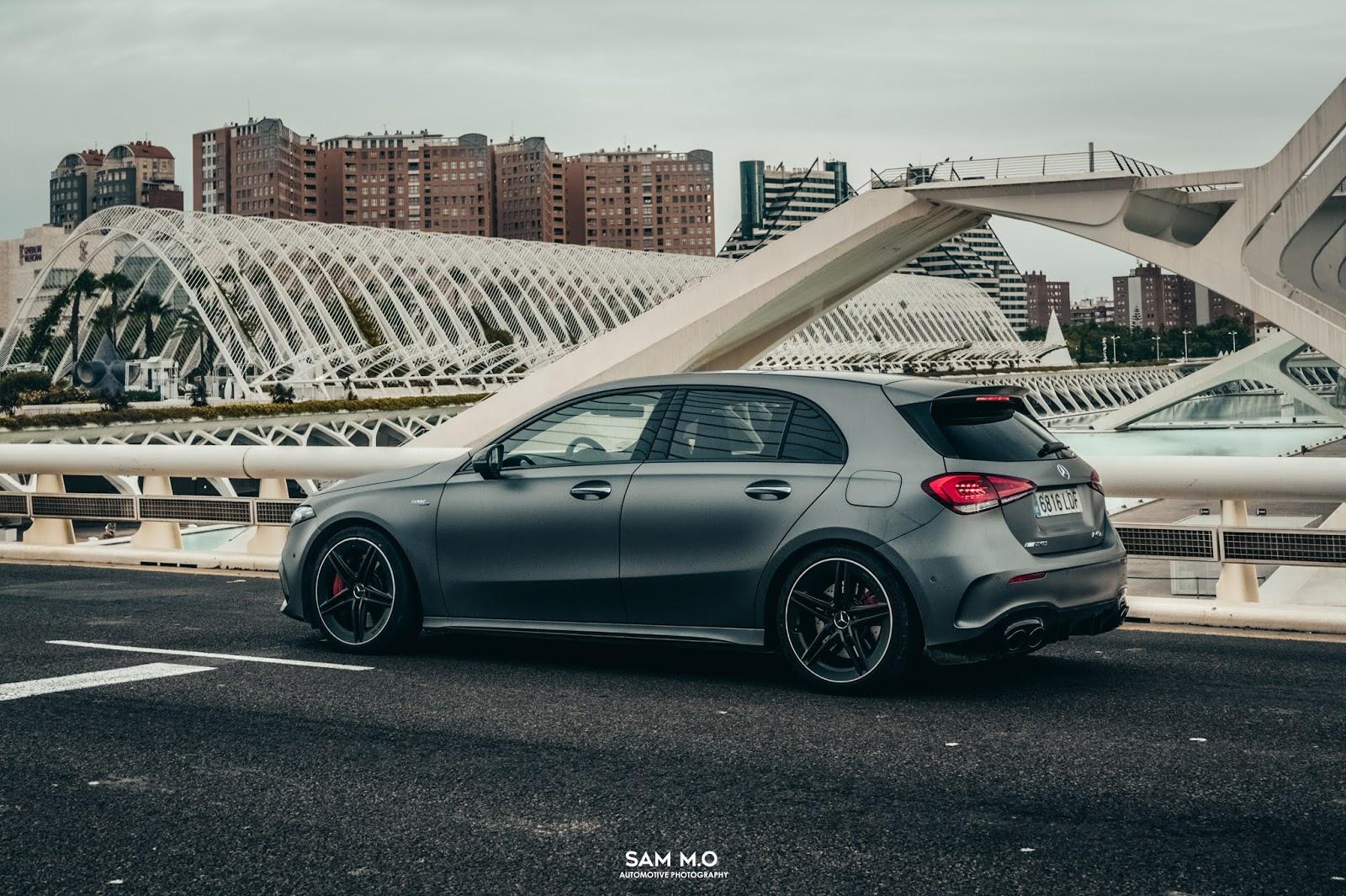 Prueba: Mercedes-AMG A45s. La versatilidad hecha coche